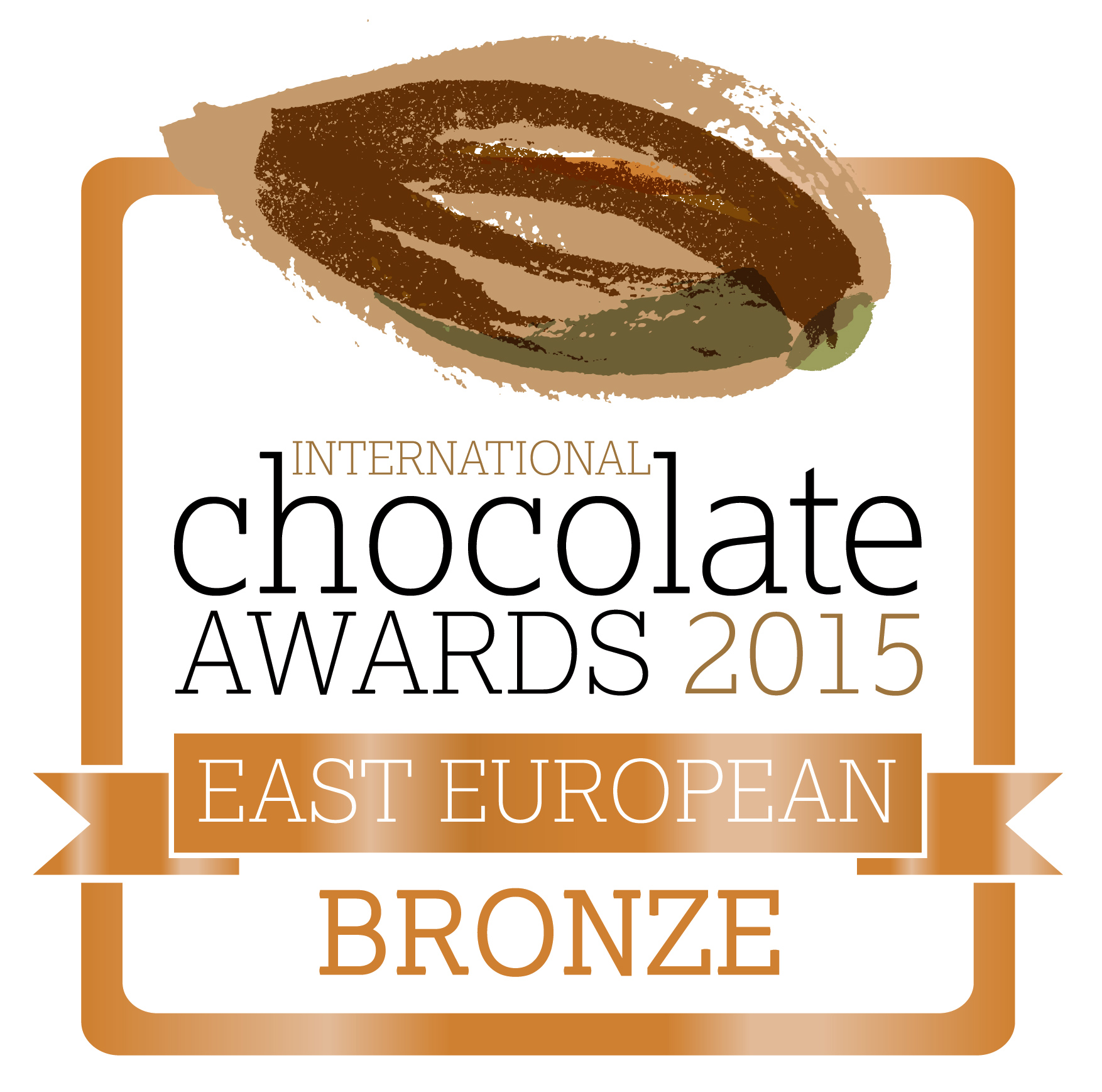 International Chocolate Awards 2015 - Bronze - East European RGB - web