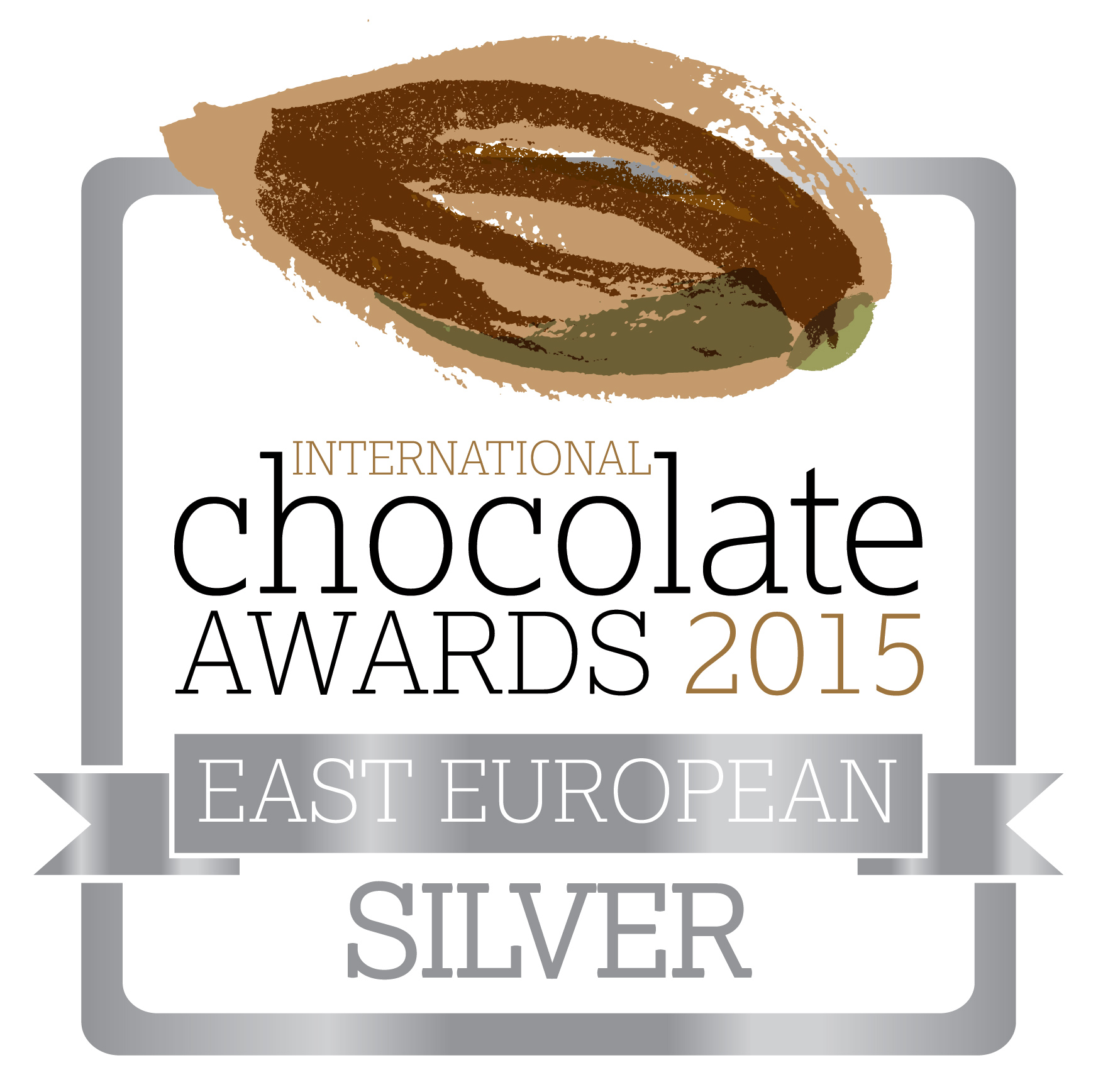 International Chocolate Awards 2015 - Silver - East European RGB - web